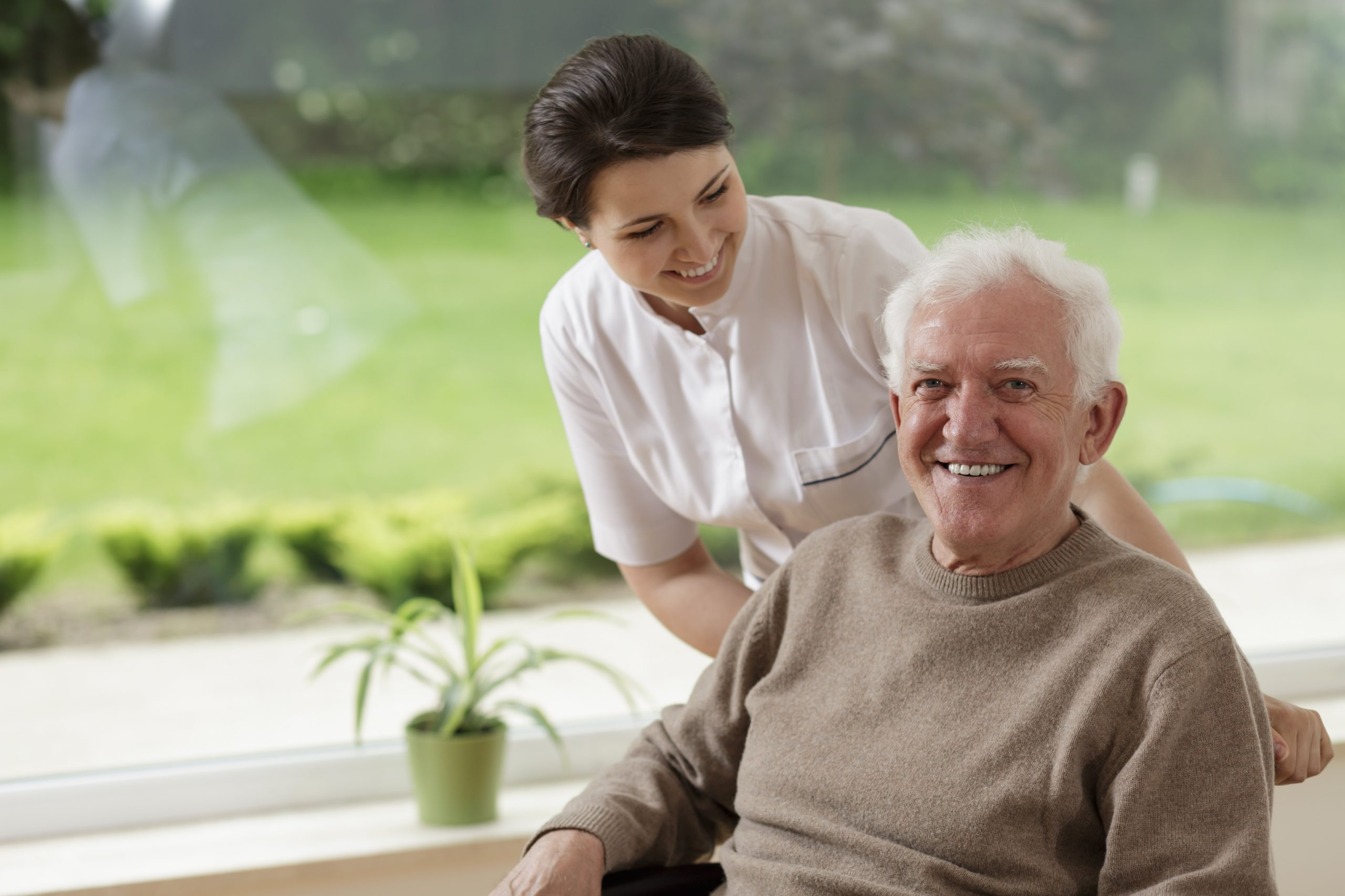 Nurse with Older Adult